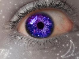 Eyeball- Stars by BloodyMinded6