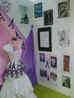 My Exabition That I Did At College. by BlondyKay