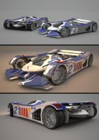 Future Race car by HAA01