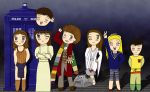 Doctor and Companions 4 by AddieFanclub
