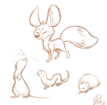 Critters by Ribbedebie