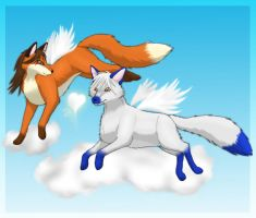 Flying Free by RoxyShadowpaw