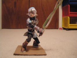 Fierce diety link papercraft by pancakes-D