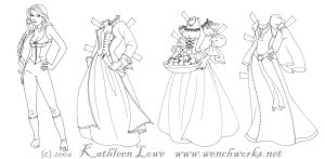 A Wench Paperdoll by Wenchworks