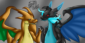 Only family we got +Mega Charizards+ by iSapphirus