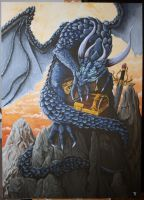 Dragon painting by Tit-Flo