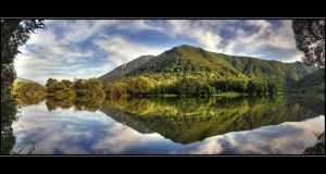 Water dream panorama by joffo1