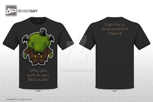 My Cute Monster Tshirt: Little gentleman by Jesse-Gourgeon