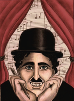 Charlie Chaplin Caricature by The-Devils-Music