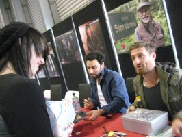 Meeting Dean O'Gorman 4 by pearlandfrog13