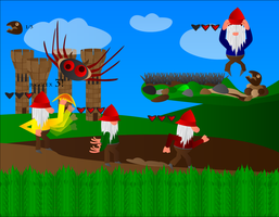 Kingdom of the Gnomes by ISawEverything