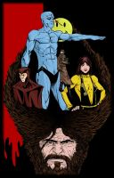 Watchmen Color by thecreatorhd