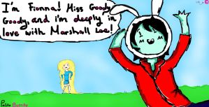 Marshall Stole Fionna's Hat! by PolitosBurritos