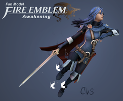 Fire Emblem Awakening - Lucina by TheStoff