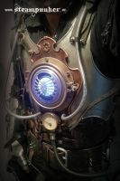 Steampunk Iron Man by steamworker