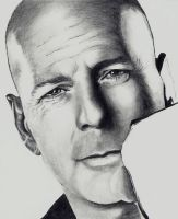 Bruce Willis - scan 3 by Doctor-Pencil