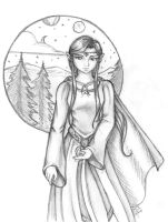 Elven Maiden Never Die by hobbit-katie