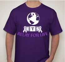 ETS Relay For Life T-Shirt by ETSChannel
