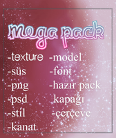 Mega Pack by cemrepiercec