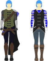 Noah - Outfit Concept Art by Tagrberry