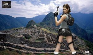 Lara Croft - Machpicchu by TheSnowman10