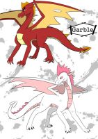 Garble and That Other Guy by CERBERUS253
