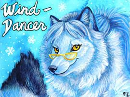 Wind-Dancer Badge by Foxfeather248