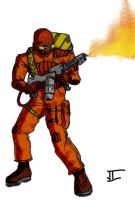 Torch Trooper by Bad-People