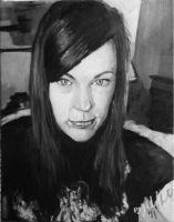 Amy Bruni my painting by cliford417