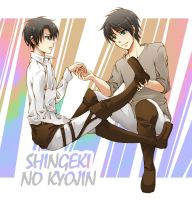 [SnK] Ereri by shirayuki44