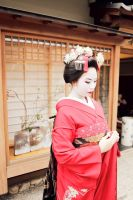 Maiko (Red) - 6 by rin-no-michiei