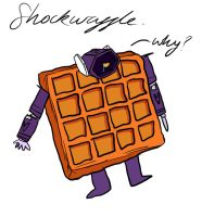 Deceptisnack: Shockwaffle by ZombieFeature