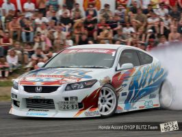 Honda Accord BLITZ Team by Hossworks