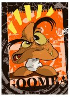 A very quick Goomba drawing by Themrock