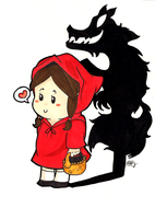 Little red riding hood by mikkichan17