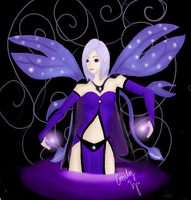 IrisFae - Commissioned by QueenJessica by MelodicArtist