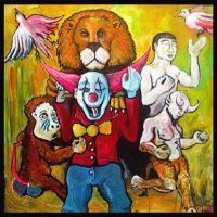 Back to life Reanimated Clown and friends by MushroomBrain
