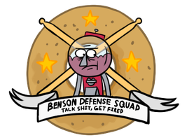 protect benson at all costs by IFellAsleepOnMyArm