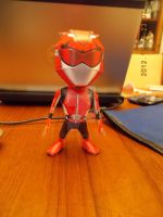 Gobusters - RedBuster Papercraft by DraikenTalkos