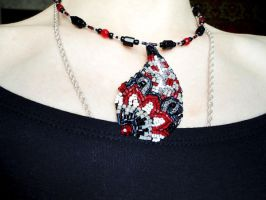 Paisley necklace by externa