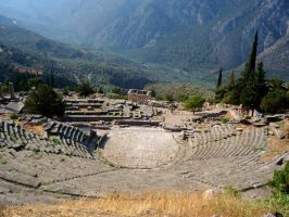 Theater of Delphi by CedaCo