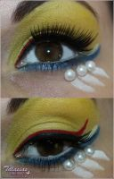 Sailor Moon inspired make up by Talasia85