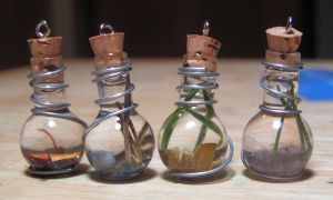 Magic Vial Elemental Set by Izile