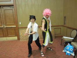 AFest 2012 - Gray and Natsu by Soynuts