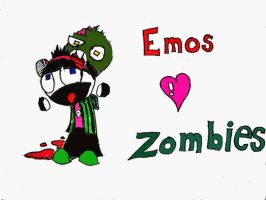 Emos Love Zombies by vandorthewanderer