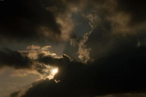 Sun behind the clouds1 by Luks85