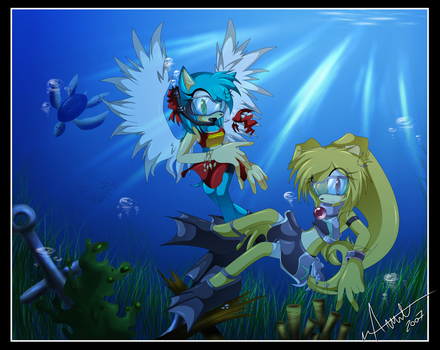 .: Blue Water :. contest entry by Chibi-Nuffie