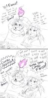 Crane vs Cynthia Mini Comic by MinionKing
