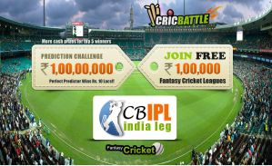 IPL Prediction Challenge is open for only first 1 by hitlat
