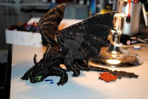 Bead Toothless v.1 - first look by RedCyclon